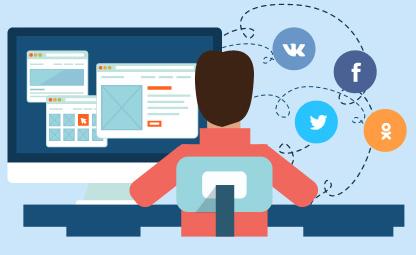 Социальные сети, лайки, рекпосты, соц. сигналы